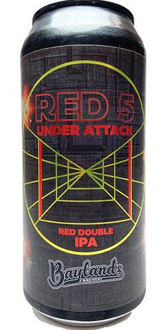 Baylands 'Red 5 Under Attack' Imperial Red IPA 440mL