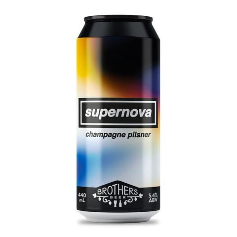 Brothers Beer 'Supernova' Champagne Pilsner 440mL