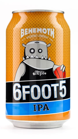 Behemoth 6 Foot 5 IPA 330mL