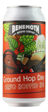 Behemoth Groundhop Day 440mL