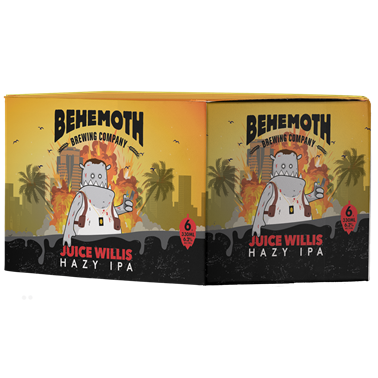 Behemoth 'Juice Willis' Hazy IPA 6x330mL