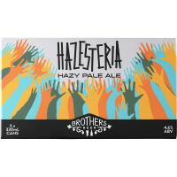 Brothers Beer 'Hazesteria' Session Hazy Pale Ale 6x330mL