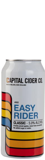 Capital Cider Easy Rider Classic Cider 440mL