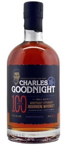 Charles Goodnight Small Batch Kentucky Straight Bourbon Whisky 100 proof 750mL