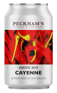 Peckhams Cayenne Pepper Cider 330mL