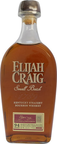 Elijah Craig Small Batch 47% 750mL