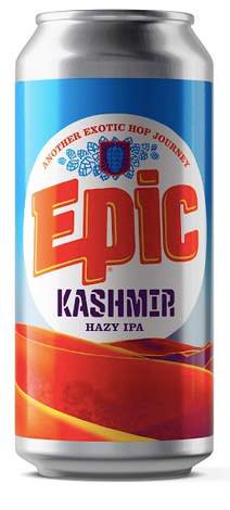 Epic 'Kashmir' Hazy IPA 440mL