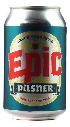 Epic Nz Pilsner 330mL