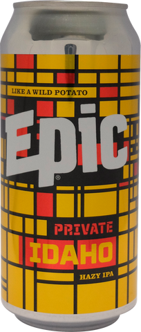 Epic Private Idaho Hazy IPA 440mL