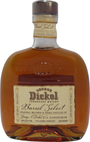 George Dickel Barrel Select Whisky 750mL
