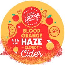 Good George Blood Orange Hazy Cider 946mL