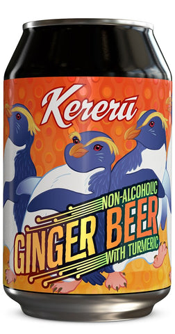 Kereru Non Alcoholic Ginger Beer 330mL