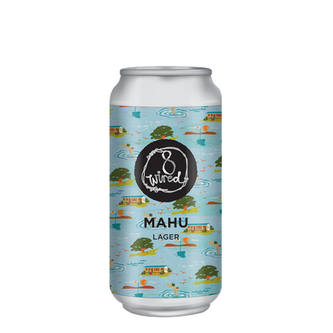 8 Wired Mahu Lager 440mL