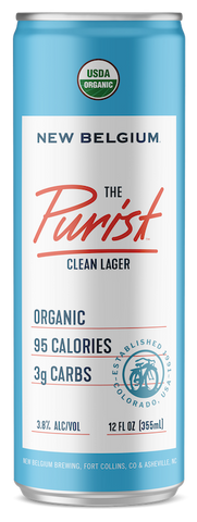 New Belgium The Purist Lager 355mL