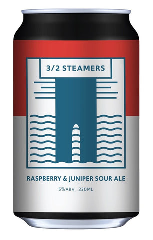 Mount Brewing Co Raspberry & Juniper Sour 330mL