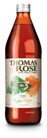 Thomas & Rose Ginger Cider 500mL