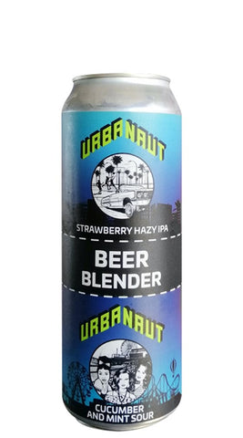Urbanaut Beer Blender Cucumber Mint x Strawberry IPA 2x250mL