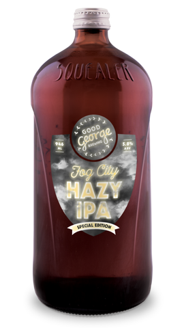 Good George Fog City IPA Squealer 946mL