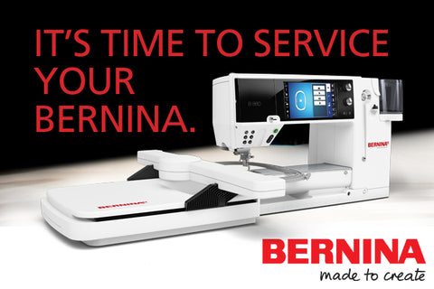It is time to service your sewing machine picture