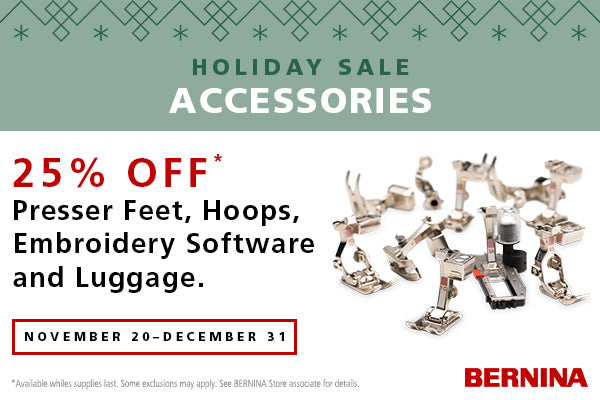 Bernina Accessory Sale