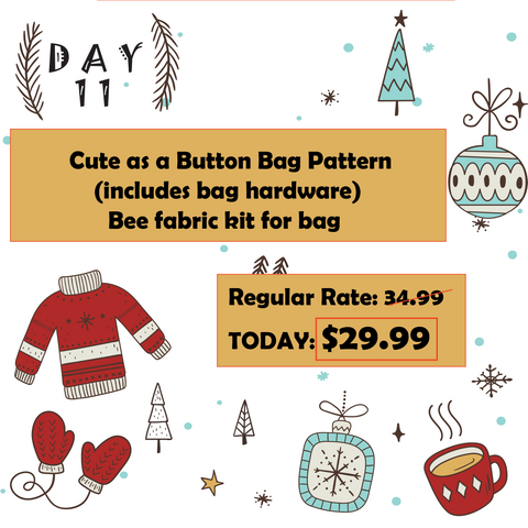 Day 11 12 Days of Christmas at Mad B's Quilt & Sew