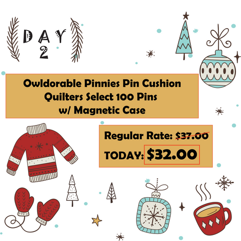 Mad B's Quilt & Sew 12 Days of Christmas Sale Day 2