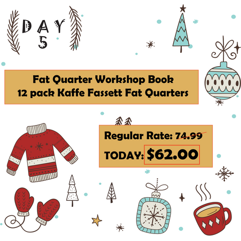 Day 5 12 Dyas of Christmas at Mad B's Quilt & Sew