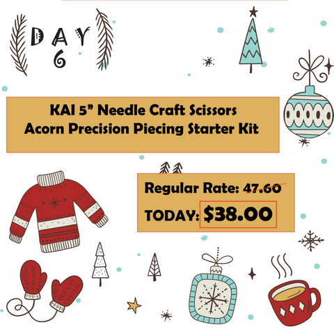 Day 6 12 Days of Christmas at Mad B's Quilt & Sew