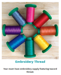 Isacord Embroidery Thread by OESD