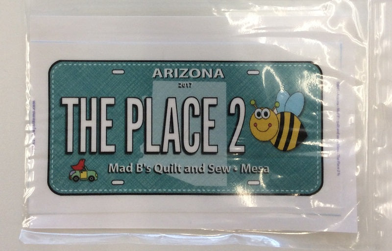 2017 Row by Row License Plate