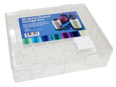 30 Spool Thread Storage Box