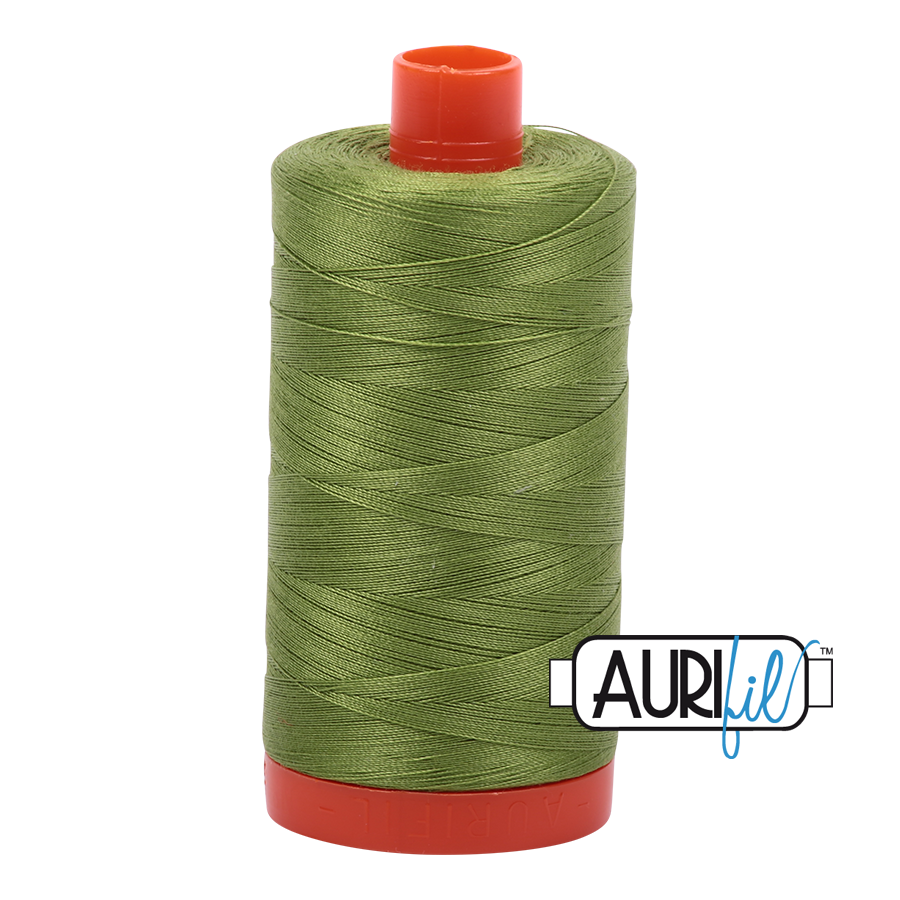 Aurifil Thread 40 weight - Fern Green #2888