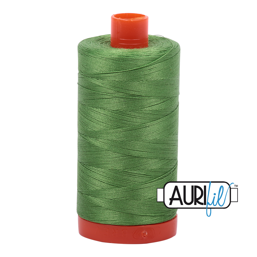 Aurifil Thread 50 weight - Grass Green #1114