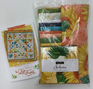 Bee My Honey Quilt Kt - Orange