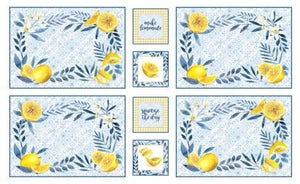 Citrus Sayings Placemats Panel
