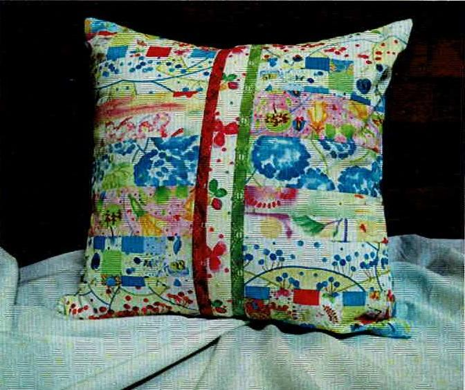 Cut Loose Press - Beginner Rotary Cutter Pillow Pattern
