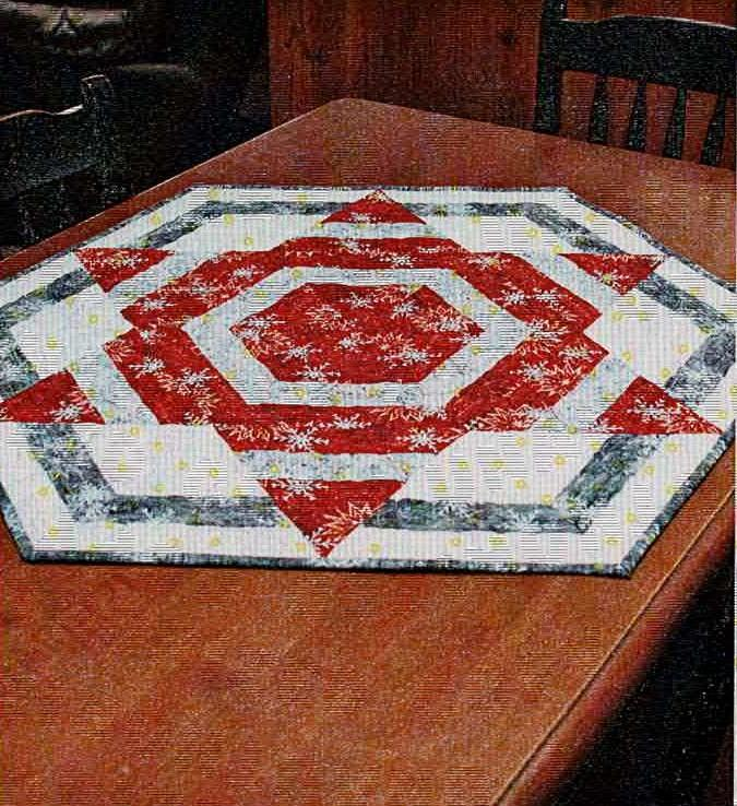 Cut Loose Press - Northern Star Table Topper Pattern