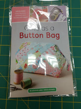 Load image into Gallery viewer, Cute As a Button Bag Pattern + Hardware
