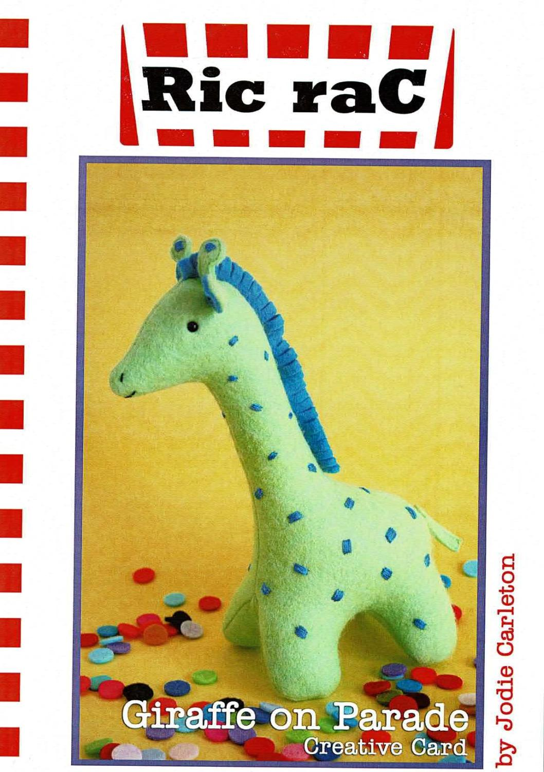 Giraffe On Parade Pattern