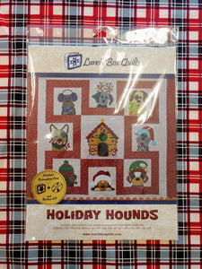 Holiday Hounds Embroidery Designs