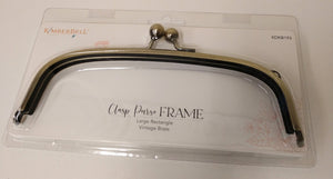 Clasp Purse Frame Large Rectgl