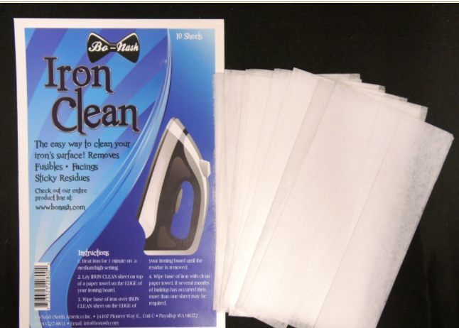 Iron Clean Sheets by Bo-Nash