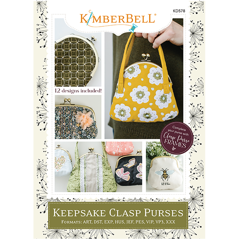 Kimberbell Keepsake Clasp Purse