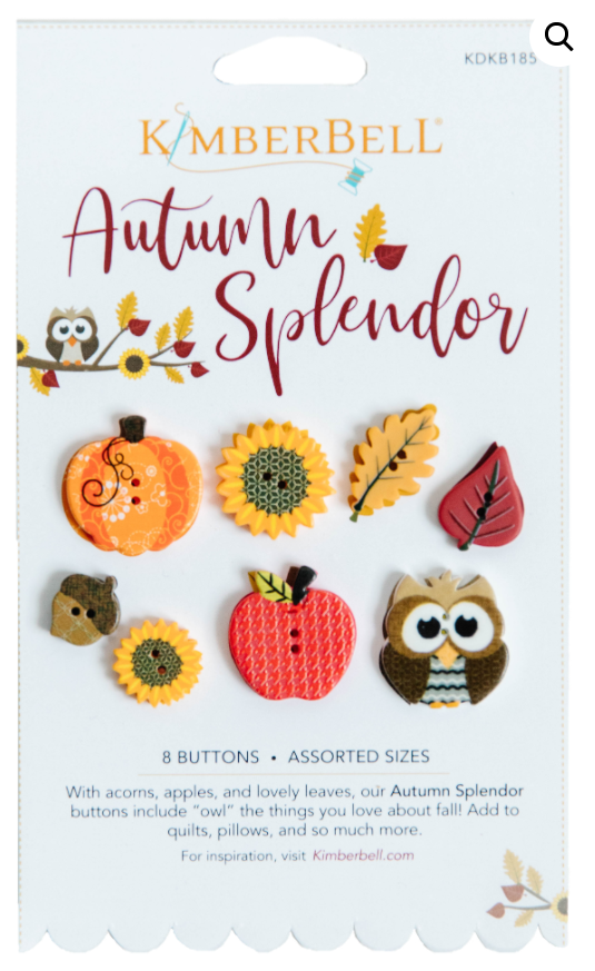 Kimberbell Autumn Splendors Buttons