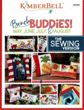 Load image into Gallery viewer, Kimberbell Bench Buddies; May, June, July & August - Sewing Version