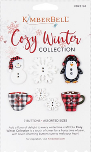 Kimberbell Cozy Winter Collection Buttons