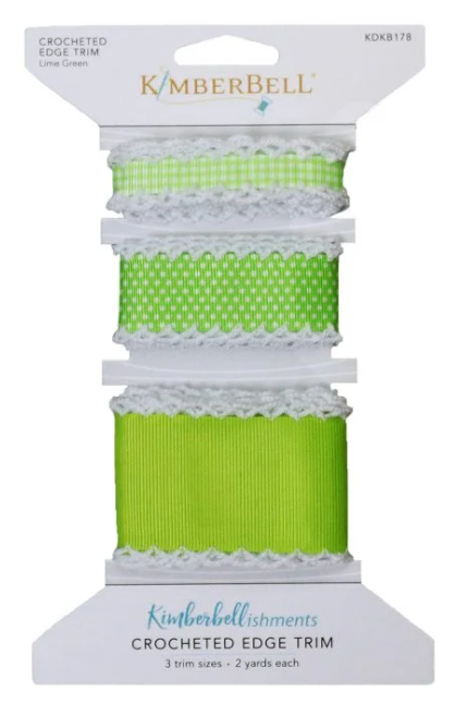 Kimberbellishments Crocheted Edge Trim - Green