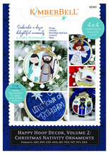 Load image into Gallery viewer, Kimberbell Happy Hoop Decor Volume 2: Christmas Nativity Ornaments