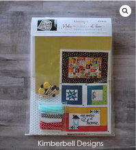 Load image into Gallery viewer, Kimberbell Make Yourself at home Embellishment Kit