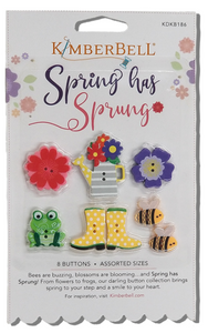 Kimberbell Spring Has Sprung Buttons